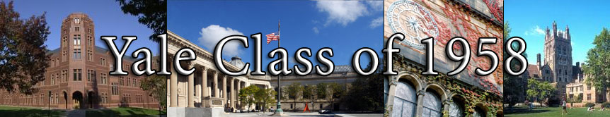 Welcome to the website for the Yale Alumni Class of 1958